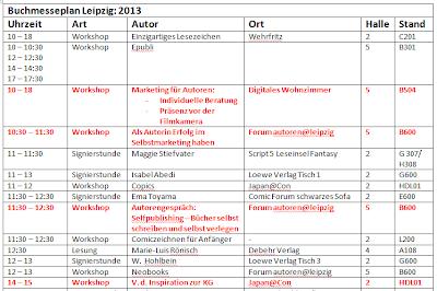 [Buchmesse] ~ LBM 2013: Ich komme!!!